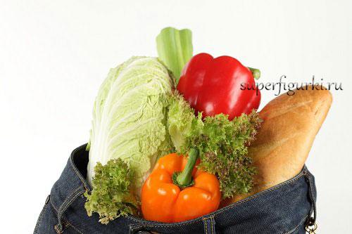 правильное питание на практике