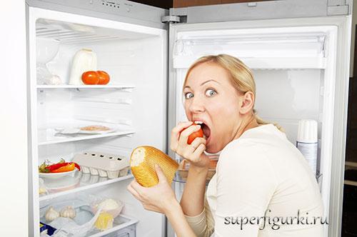 чувство голода и еда