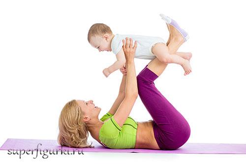 как похудеть во время кормления грудного ребенка