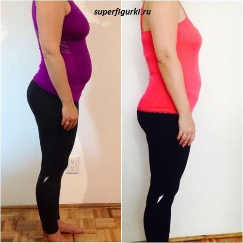 фото до и после похудения Оксана Болбот